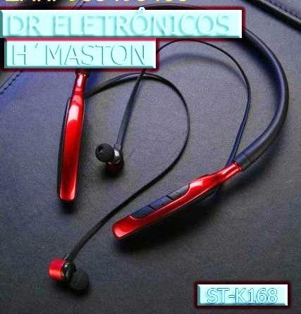 Fone Bluetooth Estereo Original Hmaston Stk 168