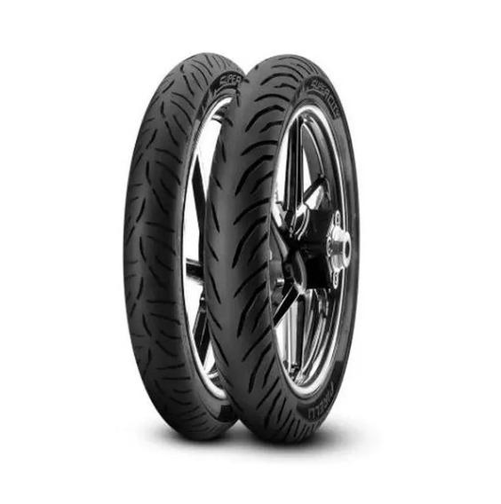 Par De Pneu Honda Titan Fan Cg 125 Ou 150 Supercity Pirelli