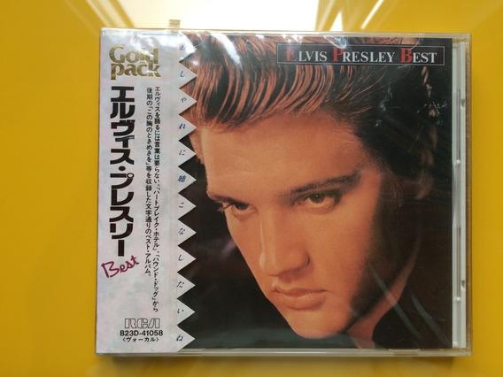 Cd Elvis Presley - Elvis Presley Best - Japan - Raro 1989