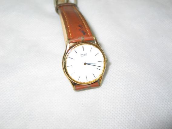 Relógio De Pulso Masculino Quartz Seiko Antigo
