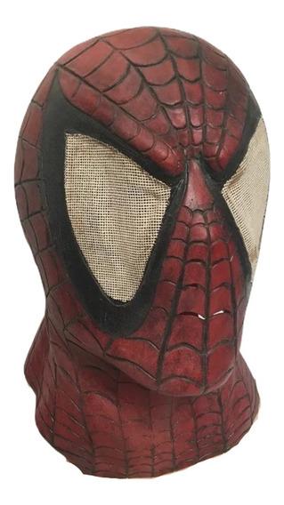 Mascara Spider-man Mcfarlane Hombre Araña Latex Mask Bust