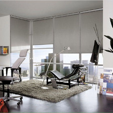 Persianas Enrollables Malla Antisolar, Blackout.