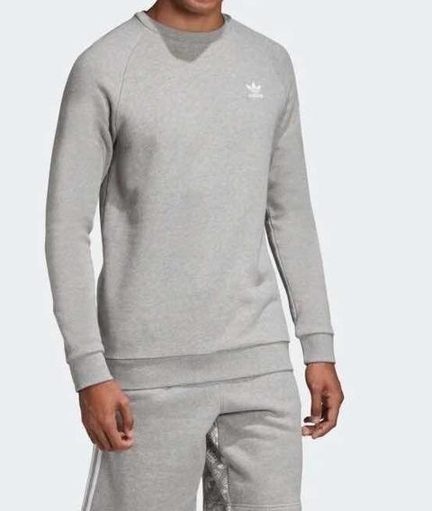 Blusa Moletom adidas Essential Crewneck - Original Dv1642