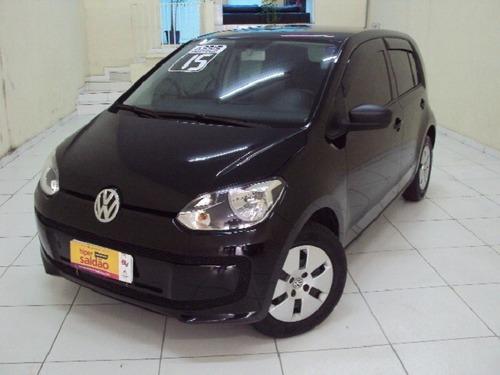 Volkswagen Up! Take 1.0 12v 4p Ano 2015 Preto Completo
