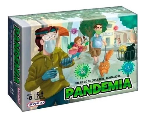 Imagen 1 de 1 de Juego De Mesa Pandemia Original Toyco Original