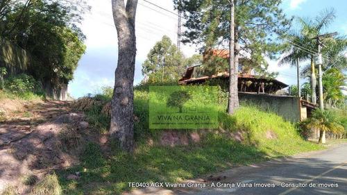 Imagem 1 de 10 de Terreno À Venda, 742 M² Por R$ 319.000,00 - Granja Viana - Carapicuíba/sp - Te0403