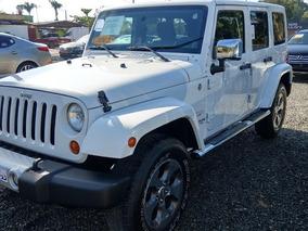 Jeep Wrangler Unlimited Sahara Blanco 2012