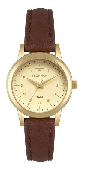 Relógio Feminino Technos Boutique Dourado - Original