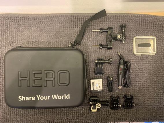 Kit Gopro Hero C/ Bateria Original Ahdbt-002