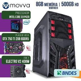 Computador Gamer Mvx3 Intel I3 8100 3.6ghz 8ª Ger. Mem. 8gb