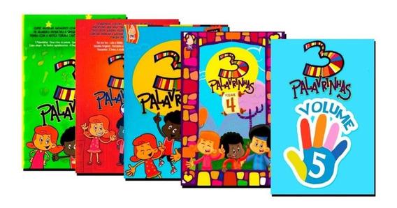 Box Dvd 3 Palavrinhas - Volumes 1,2,3,4 & 5 - Frete Grátis