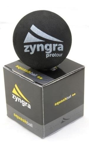 Pelotas Squash Dunlop Doble Amarillo Azul Wilson Zyngra