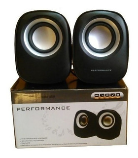 Parlantes Multimedia Usb 2.0 Performance Jack 3,5 S-01