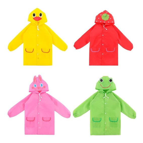 Impermeable De Colores Para Niños