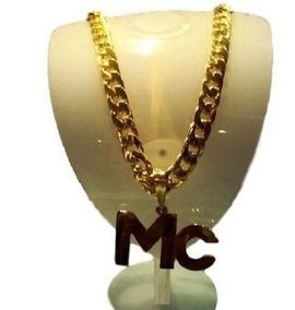 Corrente Folhead Ouro Mc Funk Ostentação 70 Cm, Ref321 V9