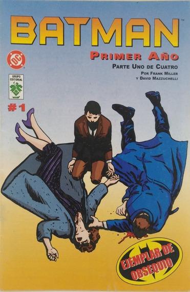 Historieta Batman Primer Año Parte Uno De Cuatro