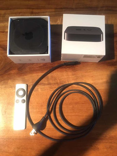 Apple Tv 3era Generación A1469 1080 Con Cable Hdmi Apple