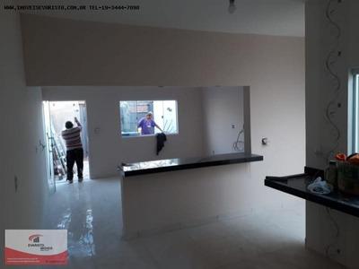 Casa Para Venda Em Limeira, Jequitiba, 2 Dormitórios, 1 Banheiro, 1 Vaga - 2031
