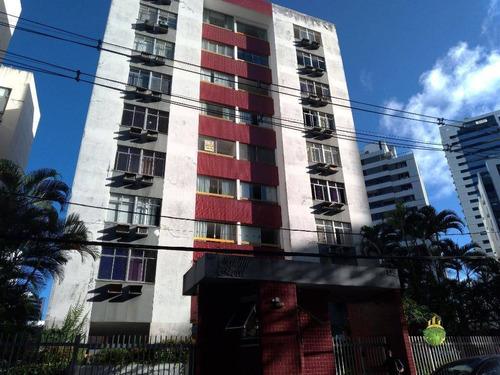 Apartamento Com 2 Dormitórios À Venda, 75 M² Por R$ 319.000,00 - Candeal - Salvador/ba - Ap0874