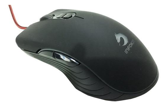 Mouse Gamer X Soldado Gm-v550 6400dpi Led 7 Cores Rgb Rápido