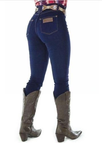 Calça Jeans Feminina Radade Skinny Tradicional Lycra Blue
