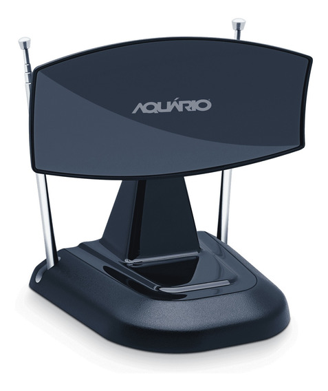 Antena Interna Aquario Vhf Uhf Fm Tv-350