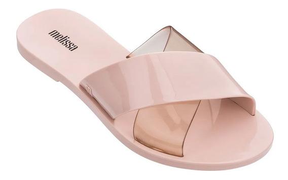 Melissa Chinelo Essential Slide Rosa/cameo