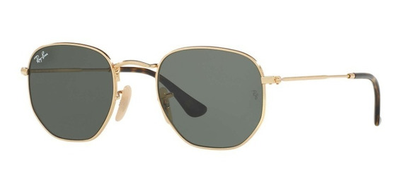 Óculos De Sol Ray Ban Rb3548 Hexagonal Masculino Feminino