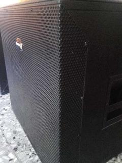 Bafles Cajas Subwoofer 18 Audiolab American Pro. No Jbl Ev
