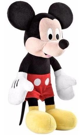 Pelúcia Mickey Mouse 40cm Emite Sons Br332 Multikids