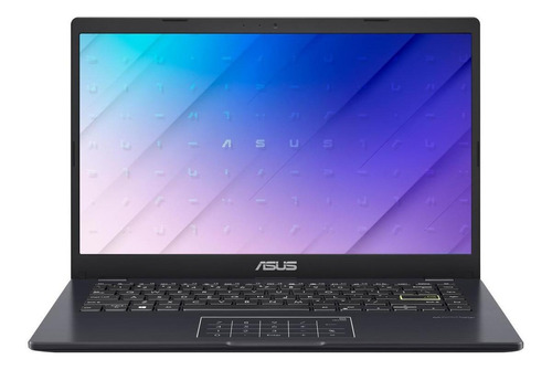 "Notebook Asus VivoBook E410MA azul eléctrica 14"", Intel Celeron N4020  4GB de RAM 128GB SSD, Intel UHD Graphics 600 1366x768px Windows 10 Home"