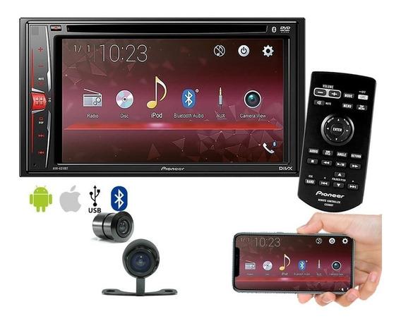 Multimídia Dvd Pioneer Avh-a218bt Espelhamento Android Câmer