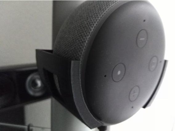 Suporte / Apoio / Stand De Parede Para Amazon Echo Dot 3