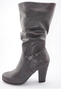 Bota Nine West Gris Talla 35