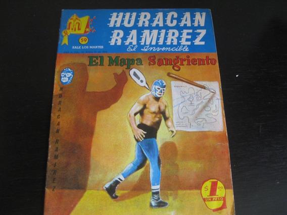Huracán Ramirez Numero 59 Fotonovela Policíaca 70s
