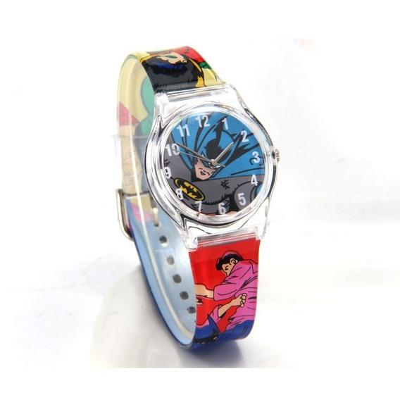 Relógio Batman Infantil Criança Pulseira Luxo