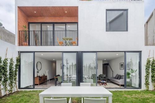 San Francisco, Casas En Condominio Con Jardín Privado