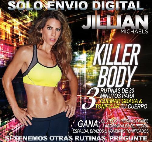 Jillian Michaels Cuerpo Matador Sin Pesas Ejercicios Fitness