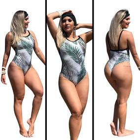 Body Bruna Marquezine Verão Listrado Modelo Cavado Ref 89b