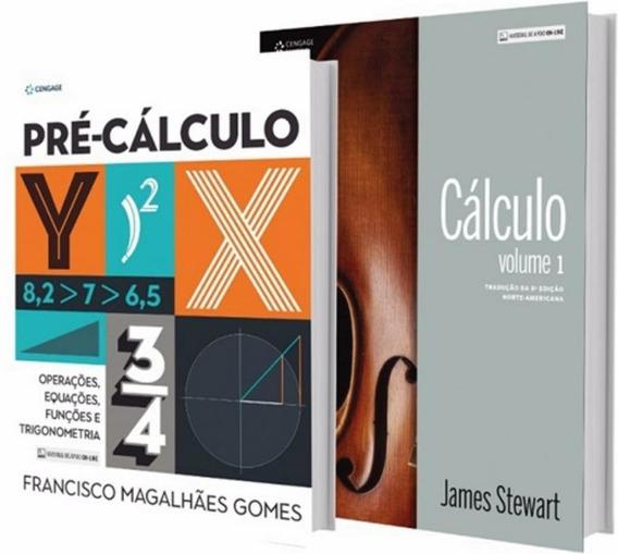 Pack Calculo - Vol. I + Pre-calculo - Operacoes, Equacoes,