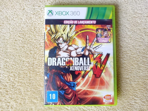 Jogo Dragon Ball Xenoverse Xv Xbox 360 Original