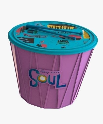 Pochoclera Balde Premium  Tambor Soul ( Disney - Pixar )