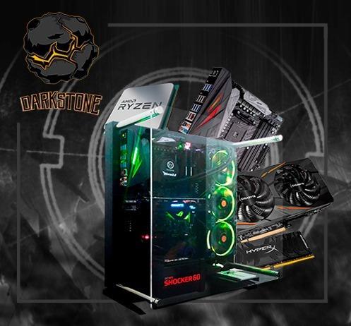 Pc Itx Gamer Darkstone Amd Ryzen 1700x, Asus Crosshair Vi He
