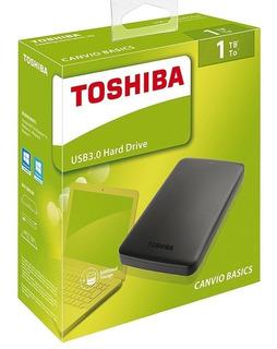 Disco Duro Externo Toshiba 1tb Canvio Basics Usb3.0 Original