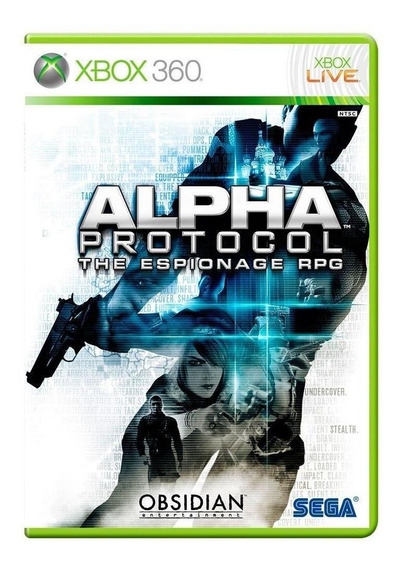 Alpha Protocol The Espionage Rpg Xbox 360 Mídia Física