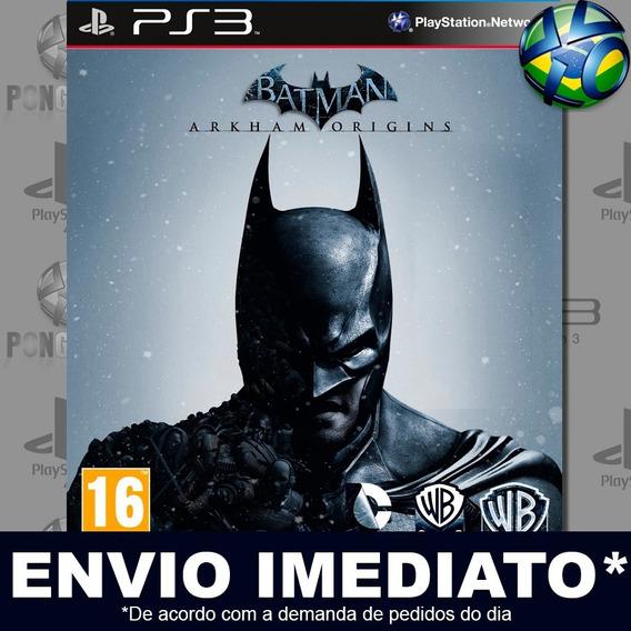 Batman Arkham Origins Ps3 Psn Jogo Promoção Pronta Entrega