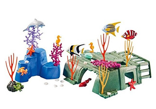 Playmobil® Add On 6545 Arrecife De Coral Con Animales