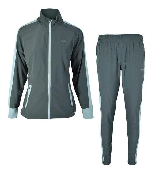 Conjunto Fila Campera + Pantalon Jogging Mujer Tenis Deportivo - Estacion Deportes Olivos