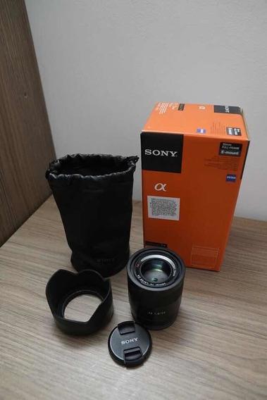 Lente Sony Zeiss 55mm F1.8 Fe