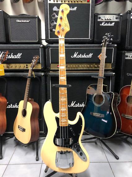 Sx Fjb57c Jazz Bass Vintage Con Chapon Bajo 4 Cuerdas